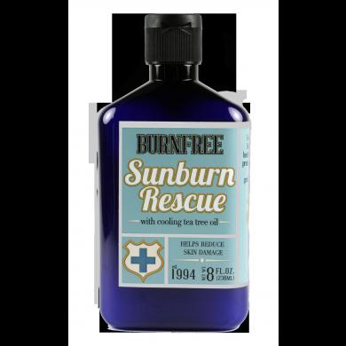 BurnFree เจลแก้ปวด Sunburn Rescue Pain Relieving Gel 8oz (236ml) bottle