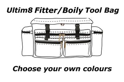 Ultim8 Fitter/Boilermaker Tool Bag - Choose your Colours