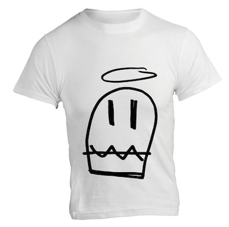 T-Shirt «Heiliga Geischt» Weiss