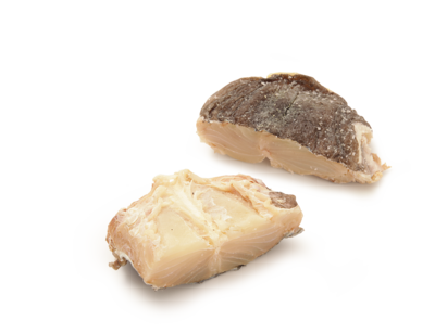 1 LBS - Dry Salted Cod BomPorto (Norway) (Bacalhau) - Necks (On Sale)