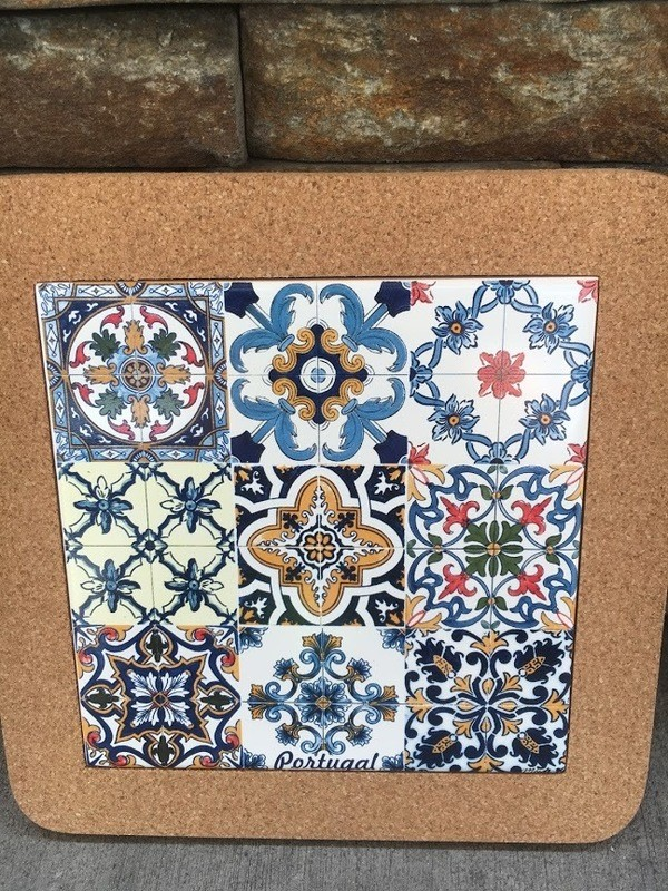 Azulejo Trivet (3x3 Tiles)