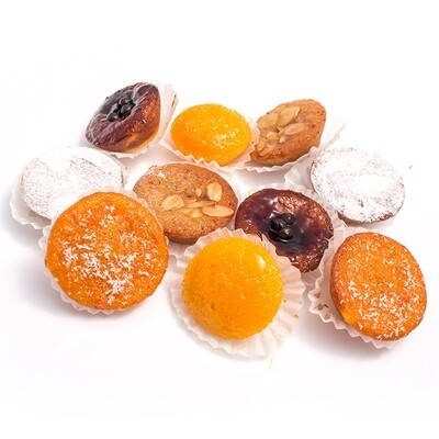 Pastry Tarts / Queijadas (1 Dozen - 12 pcs) (Ships Separately - Ships by 2 Day Air Fedex)