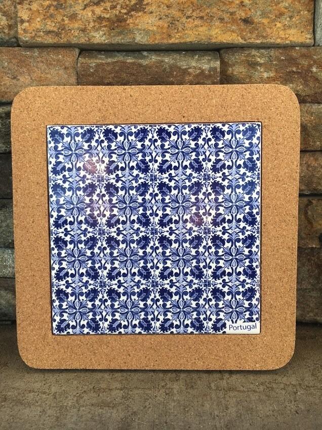 Azulejo Trivet (BlueWhiteSpread)