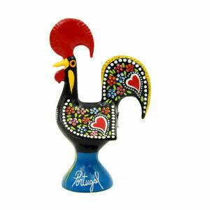 Portuguese Aluminum Decorative Figurine Rooster Decor  2