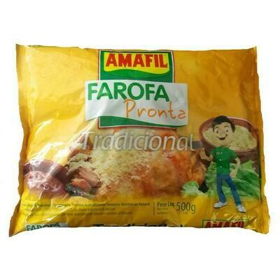 Amafil Farofa Tradicional (500gr)