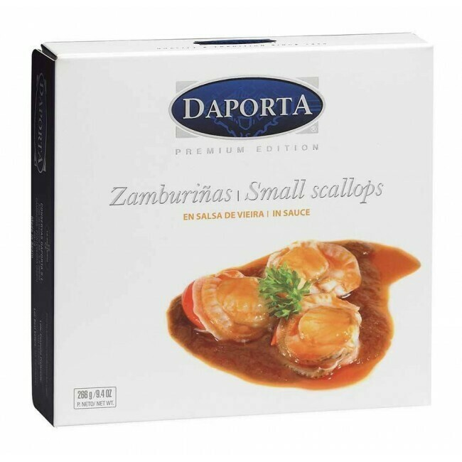 DaPorta Small Scallops in Galician Sauce (266 gr)