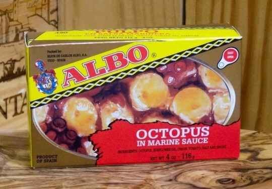 Albo Pulpo in Marinera Sauce [BULK] 28 Cans (Free Shipping this Item)