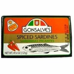 Gonsalves Portuguese Sardines (120 gr)