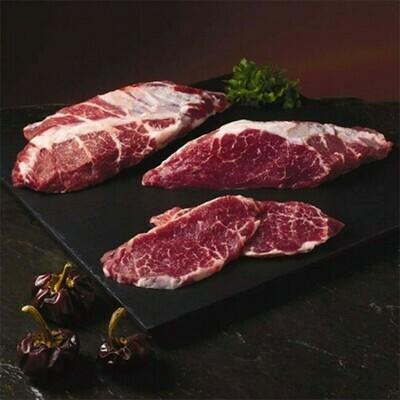 Imported Iberico Pork Shoulder Steak 2 LBS (Grain Fed) - (Ships Separately - Ship Next Day)