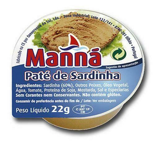 Manna Pate Sardine (22 gr Pkg)