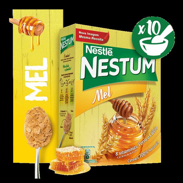 Nestum c/Mel (300gr) x 4 Pkgs (Free Shipping This Item)