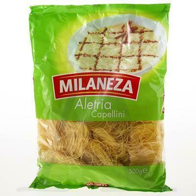 Milaneza Aletria Capellini / Angel Hair Nests-  2 x 500g Pkgs (Free Shipping This Item)