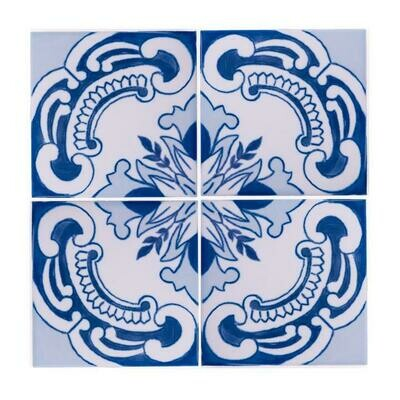 Azulejos Invictus (4 Tiles) (Ship Together Separate Box)