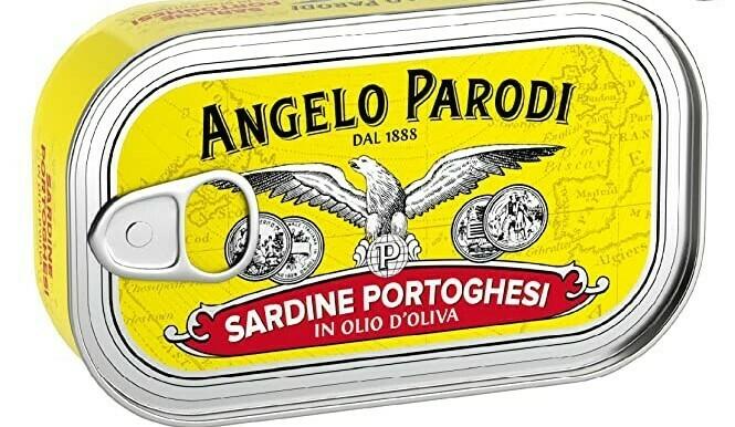 Angelo Parodi Portuguese Sardines Boneless/Skinless  (3.7 oz)