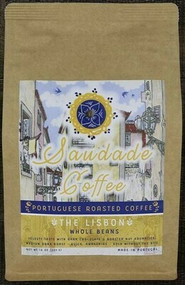 Saudade Portuguese Roasted Coffee -  The Lisbon (340gr)