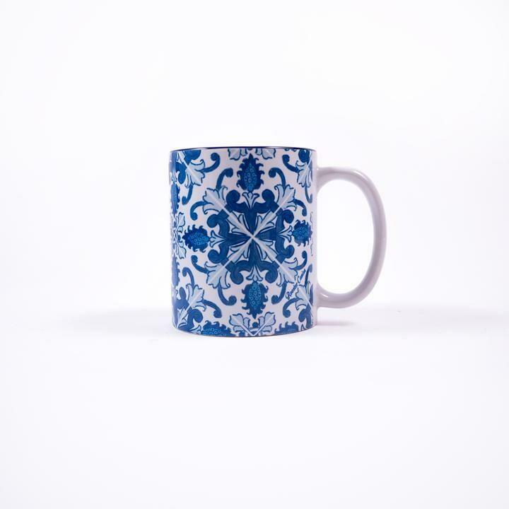 Blooming Azulejos Mug (Ships Separate/Box)