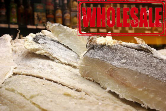45 LBS - Salted Cod BomPorto (Norway) (Bacalhau) (Wholesale) (Shipping Included)