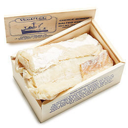 20 LBS Dry Salted Cod Boneless Fillets (Bacalhau) (Wholesale) (Shipping Included)