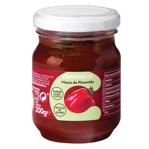 Massa Pimentao Sauce / Pepper Paste Small Jar (200 gr)