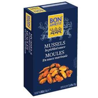 Bon Appetit Mussels in Pickled Sauce (120 gr)
