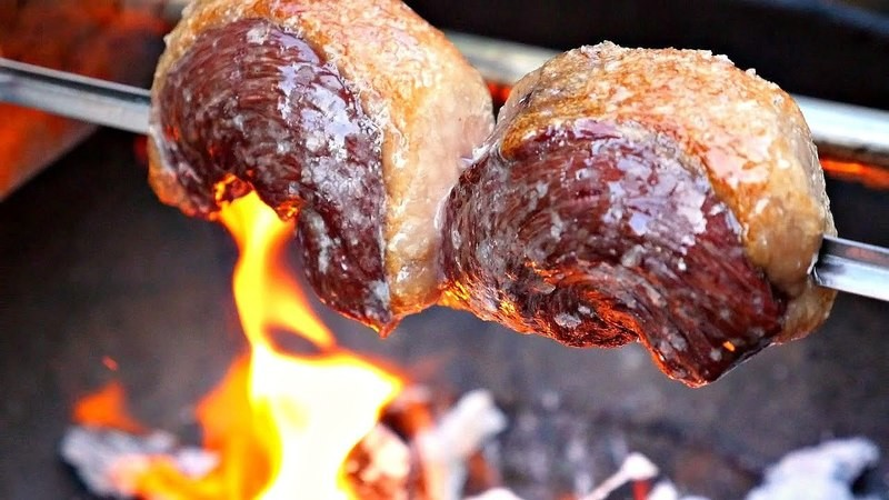 Picanha (Rump Cap) (Frozen) - Approx 7 lbs) - (Ships Separately - Ship Next Day)