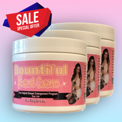 Bountiful Breast® Cream - B2G1