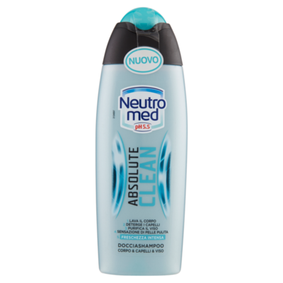 2в1 ШАМПУНЬ/ГЕЛЬ ДУШ ABSOLUT CLEAN 250 ML. NEUTROMED