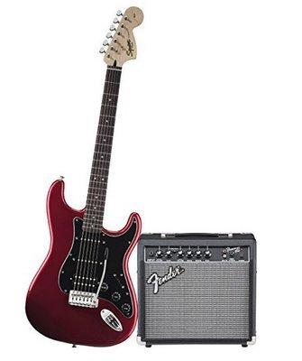 Fender Squier Electric Guitar Package 15 watt