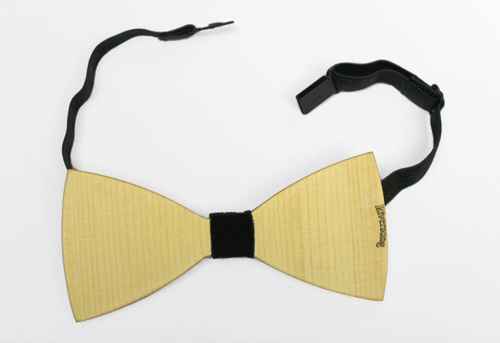 Riversong Wooden Bow Tie