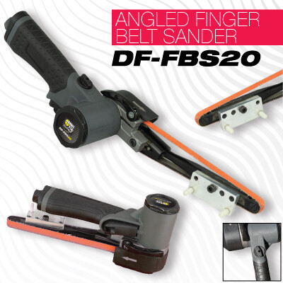 Angled Finger Belt Sander