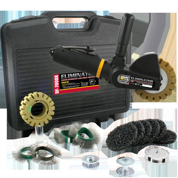 Eliminator Inline Undercoat & Decal Remover Kit