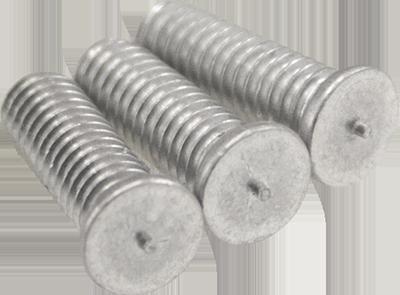 Short Alu-Magnesium Stud Pins - M4x12