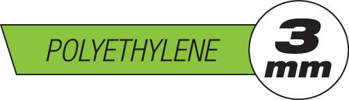 3mm Polyethylene Plastic Rods