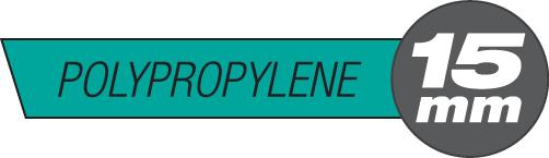 15mm Polypropylene Plastic Rods