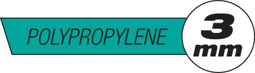 3mm Polypropylene Plastic Rods