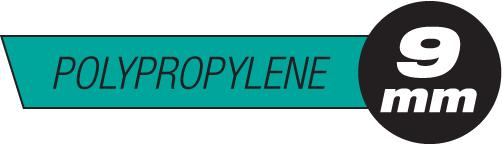 9mm Polypropylene Plastic Rods
