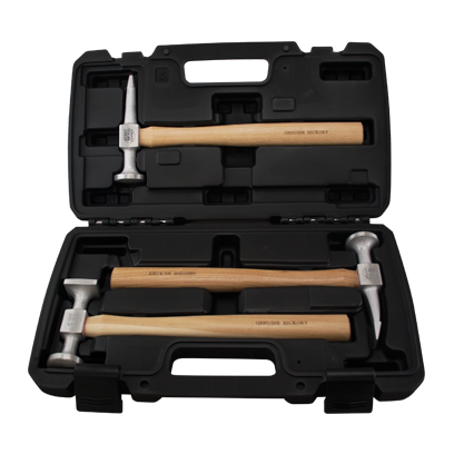 Aluminum Hammer Set - 3 pc
