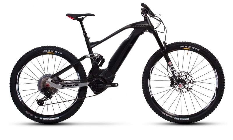 Fantic XF1 Integra Carbon 160 Race - E Mtb