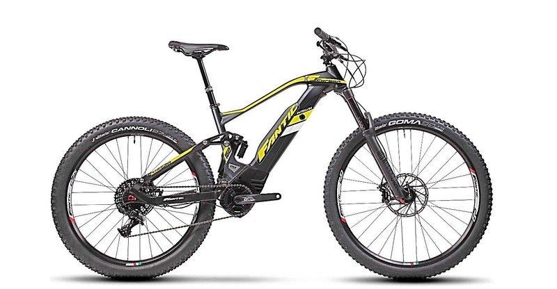 Fantic XF1 Integra Carbon 160 - E Bike 29