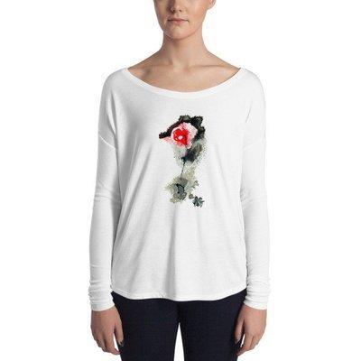 Ladies' Long Sleeve Tee Bloom 14
