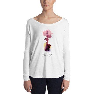 Ladies' Long Sleeve Tee - Flourish