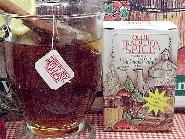 Mulling Spice Tea Bags Small box (CASE) $1.95/box, $1.85/box