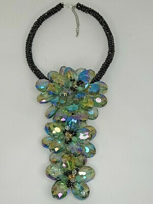 Wonderful Waterfall Statement Necklace