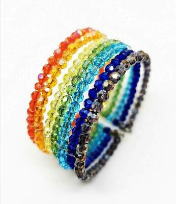 Rainbow Bracelet Handmade In Support of the UK NHS  and Thai Health Charities