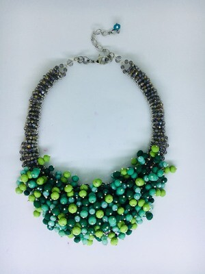 Tropical Temptation Statement Necklace