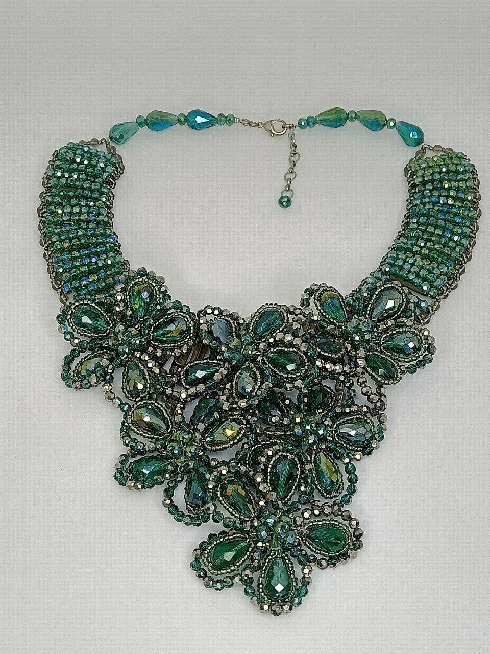 Glammed Up In Green Necklace
