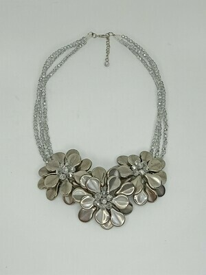 Beautiful Blossoms Statement Necklace