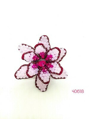Floral Fantasia Brooch