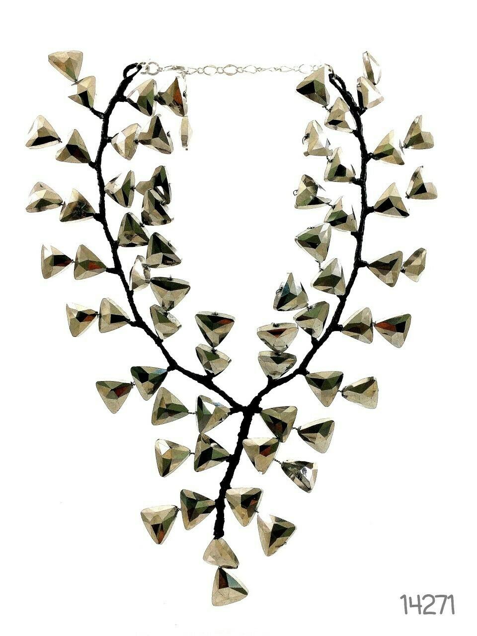 Artful Arrangement Statement Necklace
