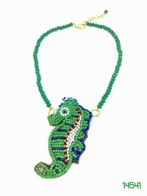 Whimsical Sea Horse Necklace
